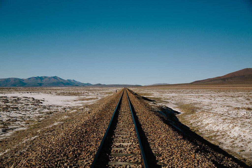 railway, tracks, trail